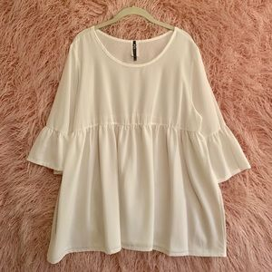 BRAND NEW white blouse from Chic Soul